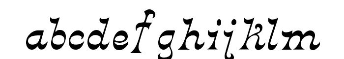 Derniere Font LOWERCASE