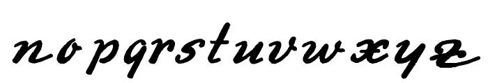 Derradeira Font LOWERCASE