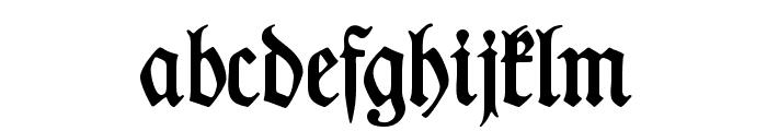 DesMalersFraktur Font LOWERCASE