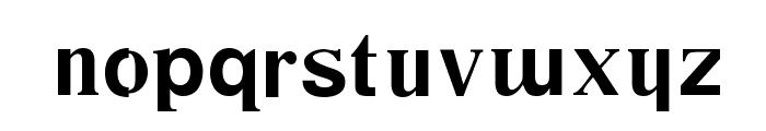 Desastra-Bold Font LOWERCASE