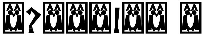 Descuadrado Bold Font OTHER CHARS