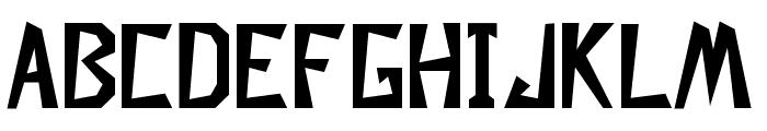 Descuadrado Bold Font LOWERCASE