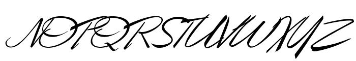 Desert Queen Personal Use Font UPPERCASE
