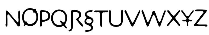 DesertCrypt Font UPPERCASE