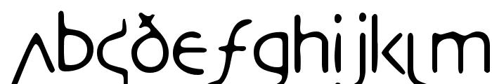 DesertCrypt Font LOWERCASE
