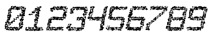 Desgastada tfb Font OTHER CHARS