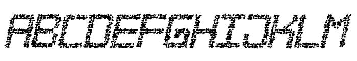 Desgastada tfb Font UPPERCASE