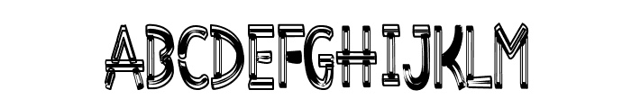 Desiderata-Overwrought Font LOWERCASE