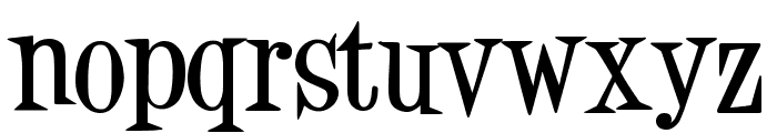 Desigers Bold Font LOWERCASE