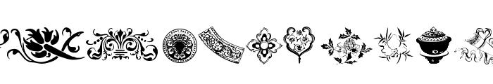 Design 7 Font UPPERCASE