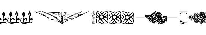 Designer Mix Font LOWERCASE