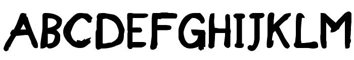 Designer Notes Bold Font UPPERCASE