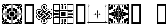 DesignerDing Font OTHER CHARS
