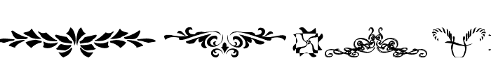 DesignerDing Font UPPERCASE