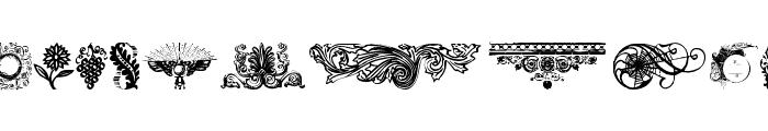 DesignerMotifsTwo Font LOWERCASE