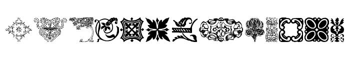 DesignerMotifs Font LOWERCASE