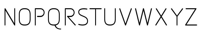 Designio Font UPPERCASE