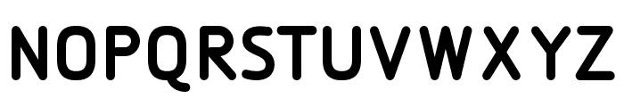DesignioBold Font UPPERCASE