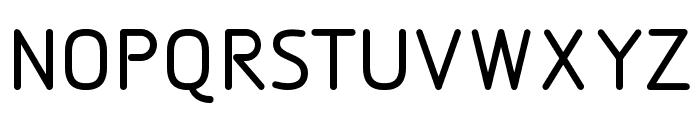 DesignioMedium Font UPPERCASE