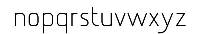 Designio Font LOWERCASE