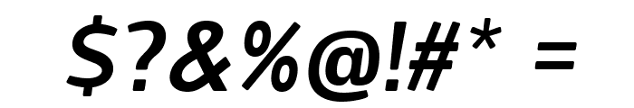 Designosaur-Italic Font OTHER CHARS