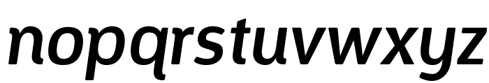 Designosaur-Italic Font LOWERCASE