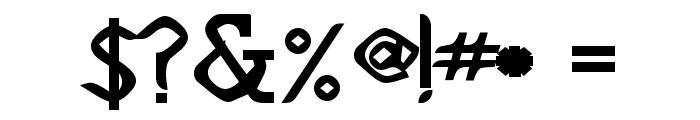 Deskomora Font OTHER CHARS