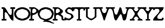 Deskomora Font UPPERCASE