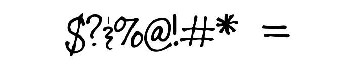 DespainGang_Karmelle_37 Font OTHER CHARS