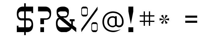 DesperadoFLF Font OTHER CHARS