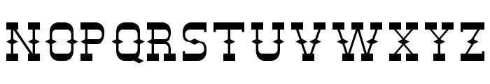 DesperadoFLF Font LOWERCASE