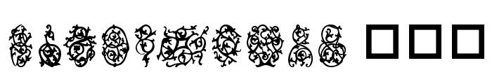Destinys Designs Font UPPERCASE