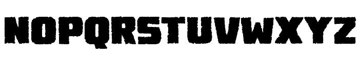 Destroy Earth BB Font LOWERCASE