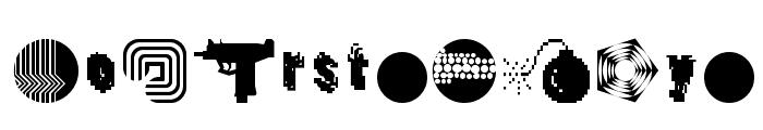 DestroyDingbats Font LOWERCASE