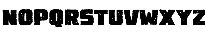 DestroyEarthRoughBB Font UPPERCASE