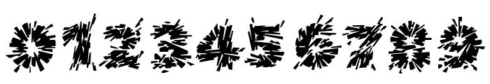 Destroya Font OTHER CHARS