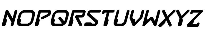 DestructoBeam BB Bold Font UPPERCASE