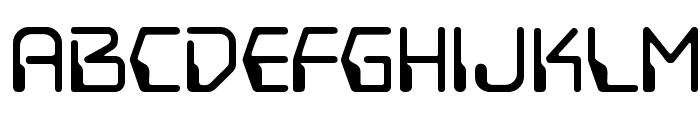 DestructoBeamBB Font LOWERCASE