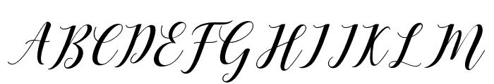 Desyanti Font UPPERCASE