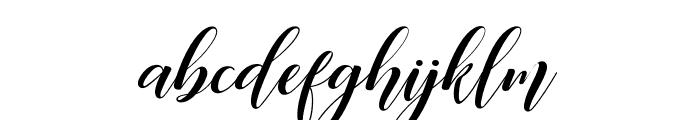Desyanti Font LOWERCASE