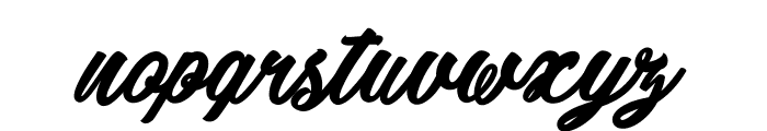 Detective Bildo_PersonalUseOnly Font LOWERCASE