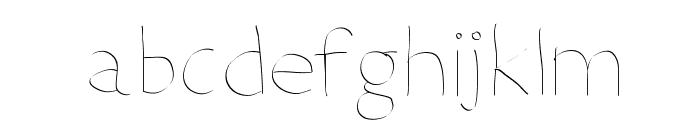 DeterioratetheInternet Font LOWERCASE
