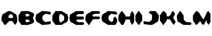 Detonator Condensed Font UPPERCASE