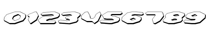 Detonator Shadow Italic Font OTHER CHARS