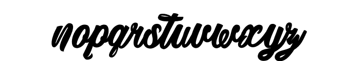 Detrimental_PersonalUseOnly Font LOWERCASE