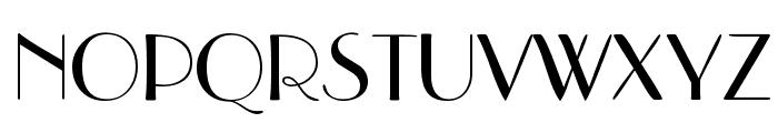 DeusenburgSSK Font UPPERCASE