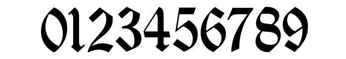 Deutsch Gothic Font OTHER CHARS