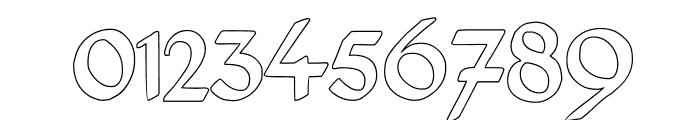Deutsch-Gotisch Outline Font OTHER CHARS