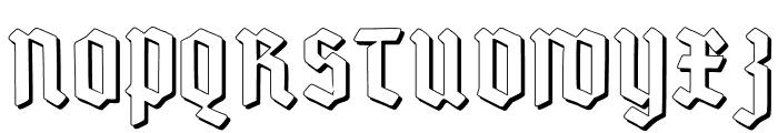 Deutsch-GotischShadow Font UPPERCASE