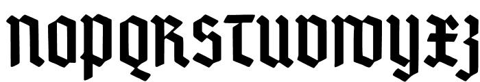 DeutschGotisch Font UPPERCASE